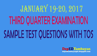 3rd periodical test in english 3 We aim to complete all the k-12 periodical tests all subjects for our  test  grade 3 english – third periodical test grade 3 esp – third.