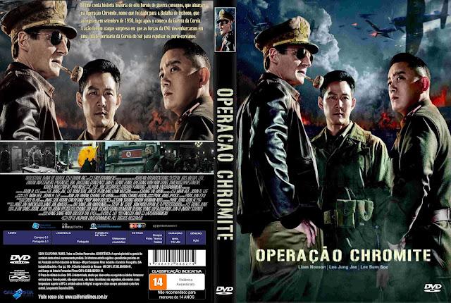 Capa DVD Operação Chromite