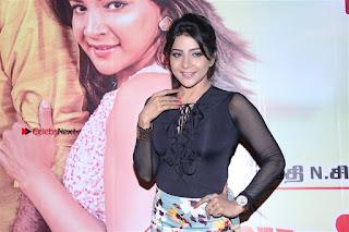 Actress Sakshi Agarwal Stills in Floral Short Skirt at Jaikira Kuthira Audio Launch  0008.jpg