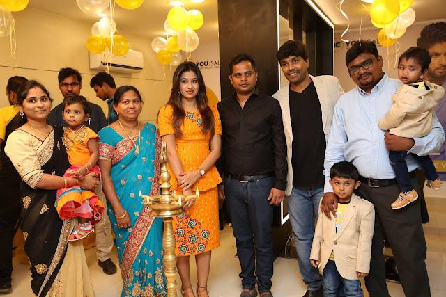 "Actress Manali Rathod Launches ""BE YOU"" Family Salon and Bridal Studio @ Miyapur"