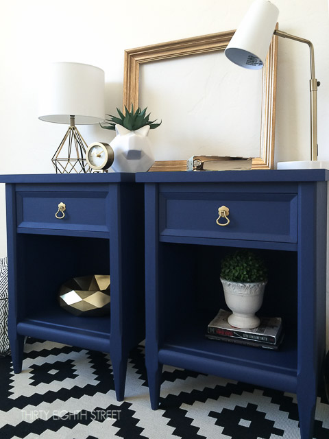 Modern Painted Nightstands With Country Chic Paint ...