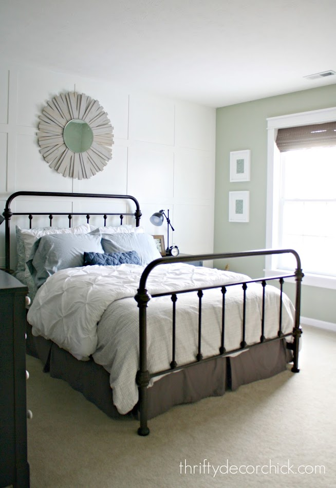Farmhouse look for bedroom
