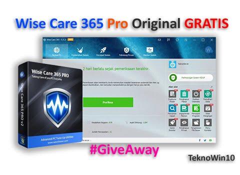 #Giveaway, Cara Download dan Install Wise Care 365 Pro Original GRATIS