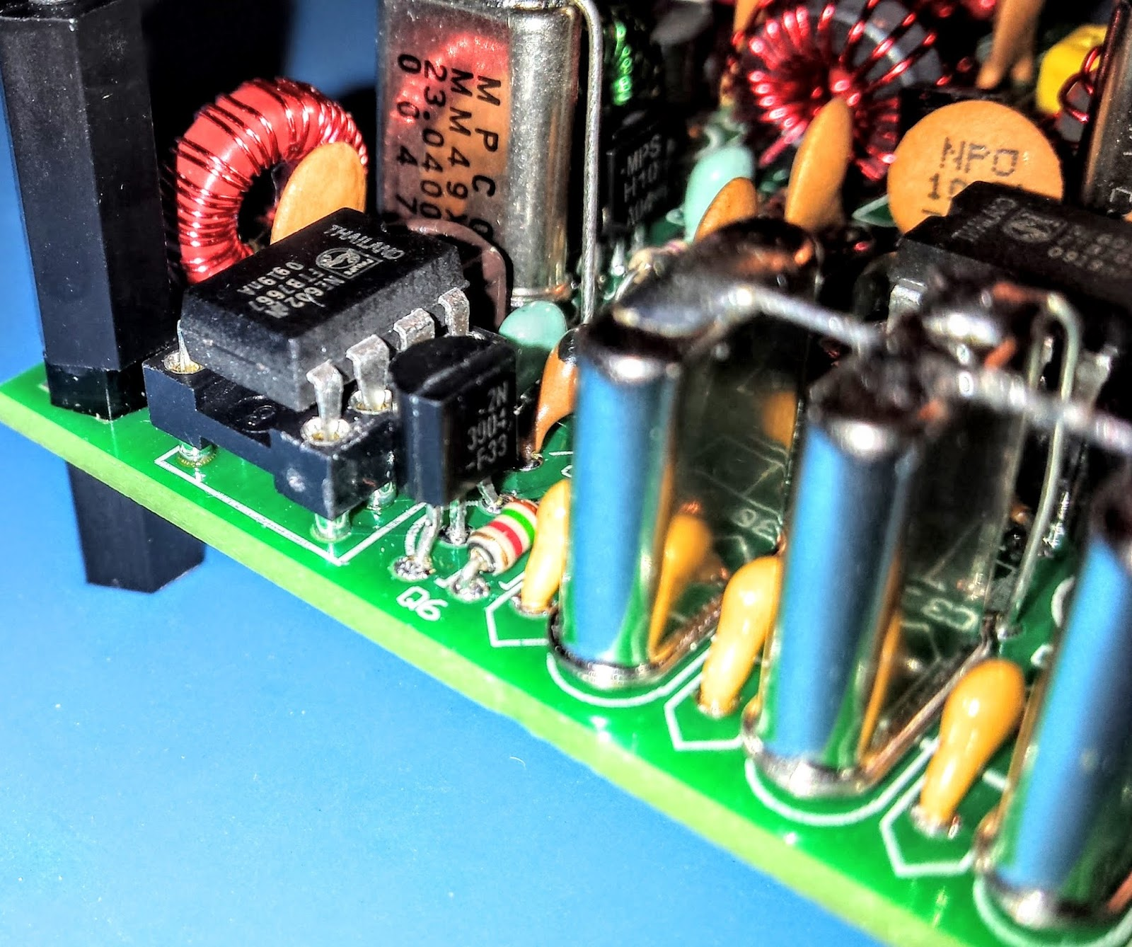 Ham Radio Qrp March 2016 Parallel Lc Circuit Http Electronicsclubforengineersblogspotcom Xtal Filters Give It Good Selectivity
