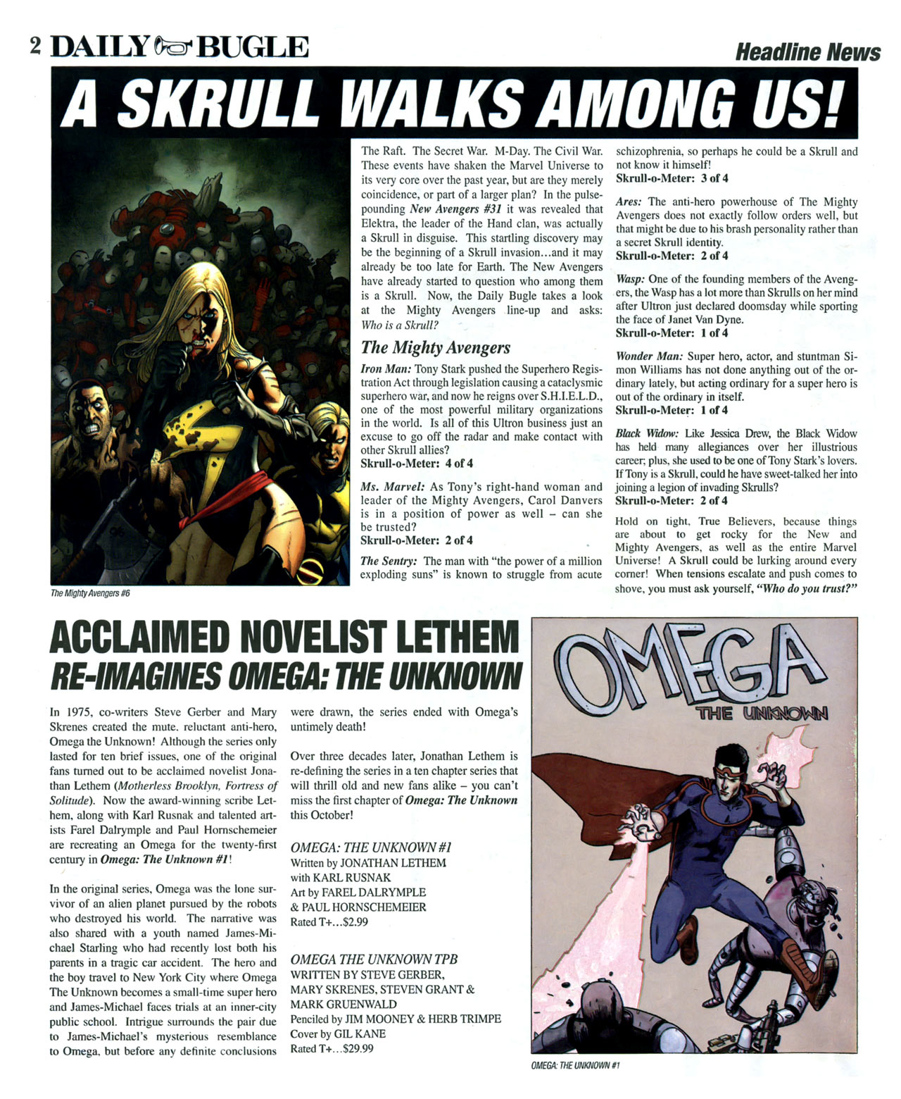 Read online Daily Bugle (2006) comic -  Issue #13 - 3