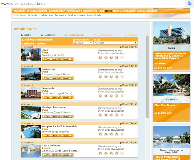 Last Minute Reise über Christi Himmelfahrt - Hotelsuche im Online-Reiseportal