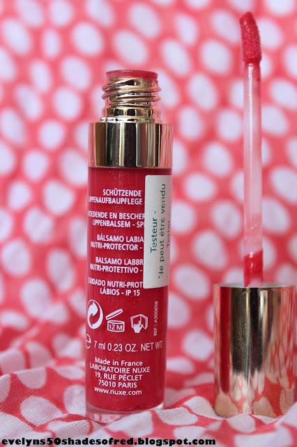 Nuxe Baume Prodigieux Lèvres, #04 Rouge Charismatic