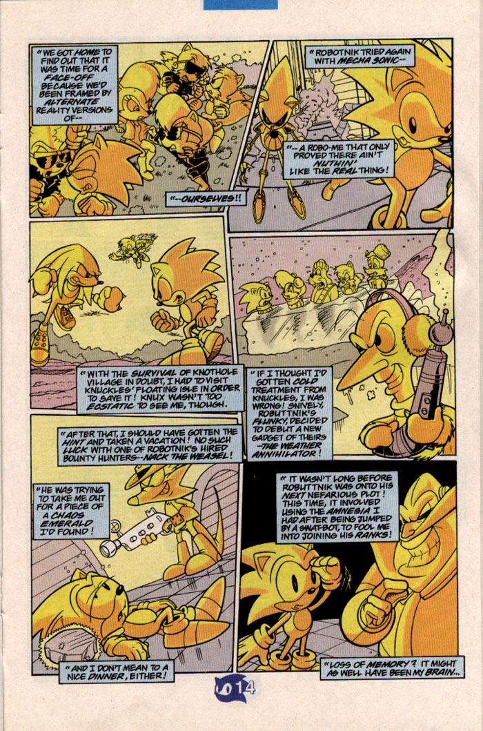 Read online Sonic The Hedgehog comic -  Issue #57 - 16