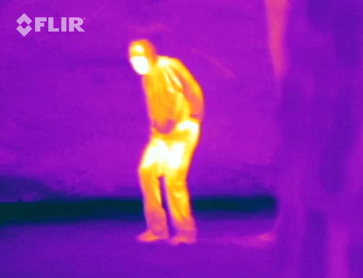 How to capture thermal image using iPhone