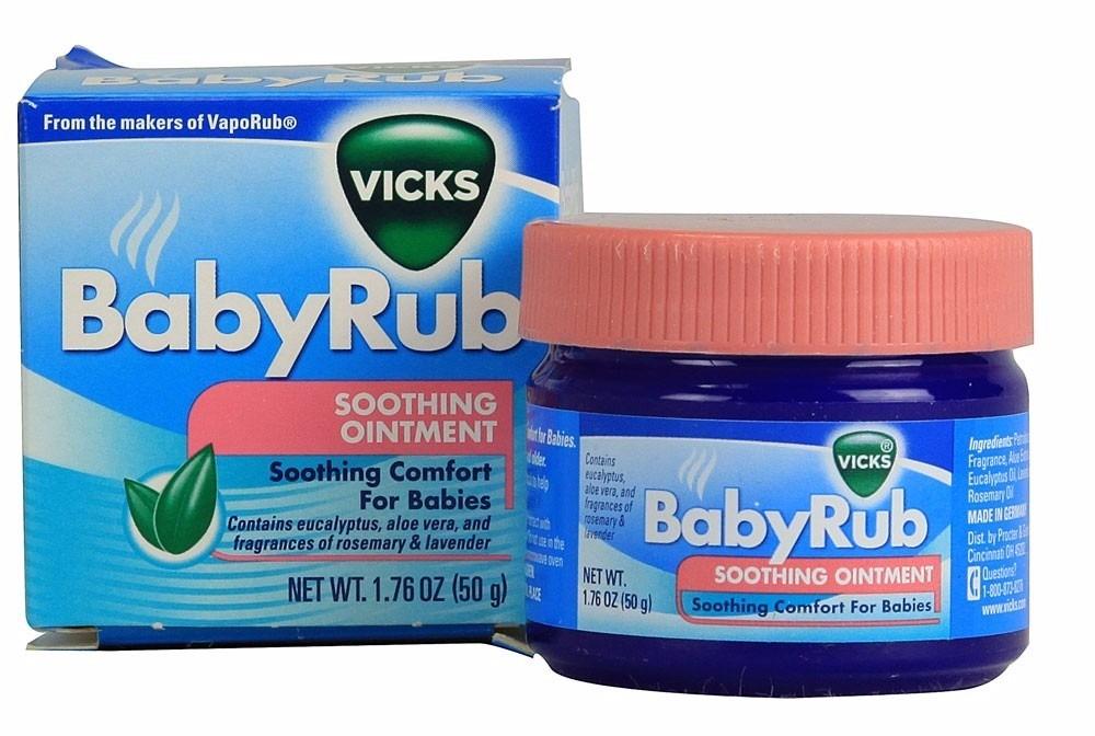 Jennyrella Review Productos Para El Resfr 237 O Vick Baby Rub