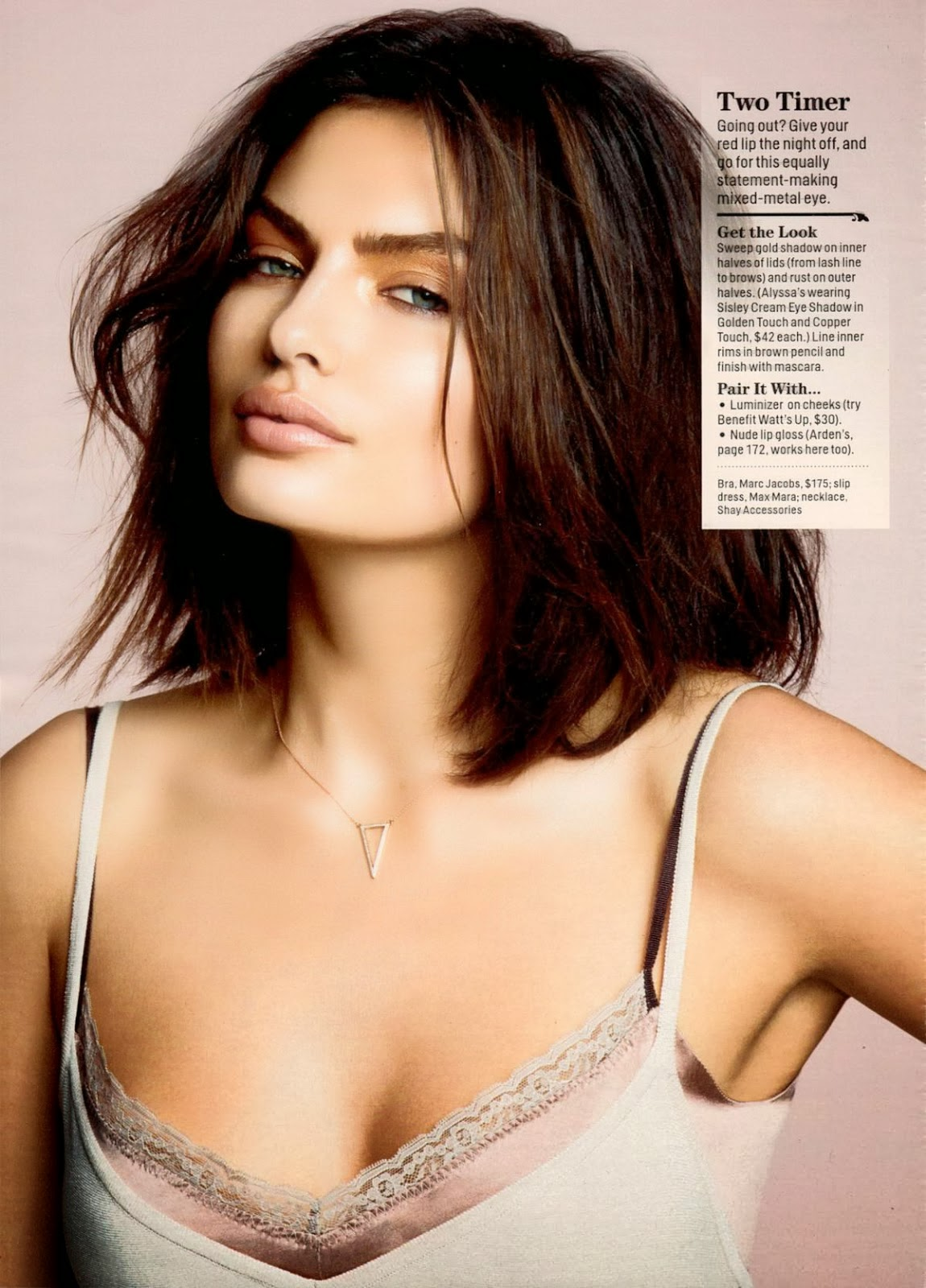 Alyssa Miller in Intimissimi Winter Lingerie Collections