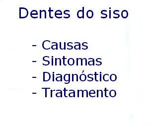 Dentes do siso o que são quando nascem tratamento