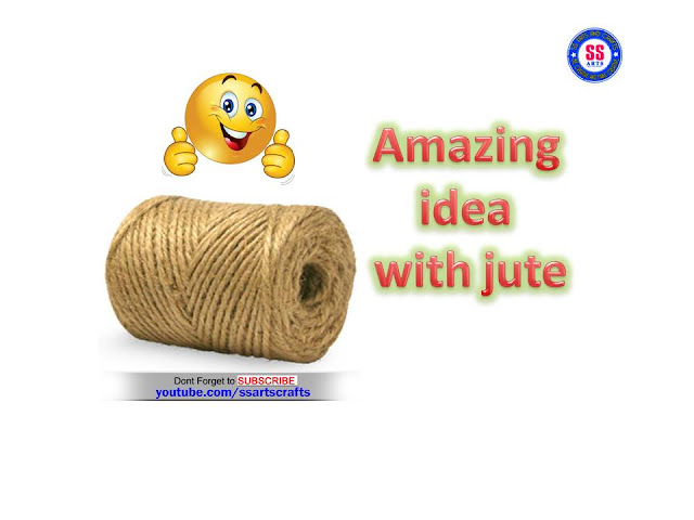 here is jute crafts,crafts made by jute,jute wall hangings,jute room decor ideas,jute flowers,jute hand bags,jute wind chimes,jute purses,jute bags,jute pot decoration,how to make jute show piece ssartscrafts videos youtube channel