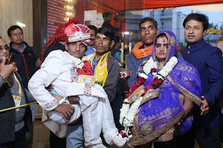 52 Specially abled couples tied the knot at '32nd Royal Mass Wedding of Specially Abled & Underprivileged Couples' in Delhi