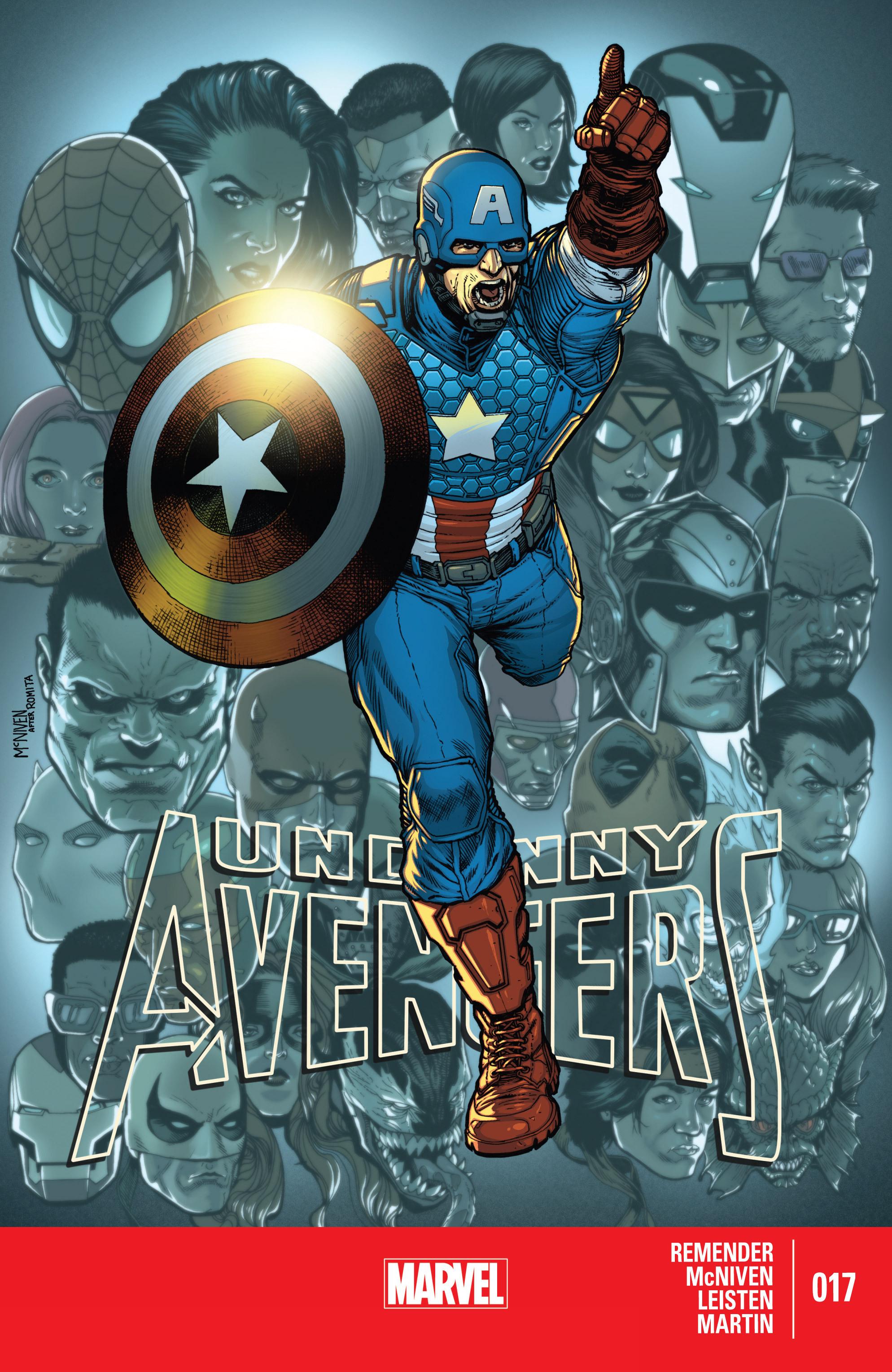 Read online Uncanny Avengers (2012) comic -  Issue #17 - 1