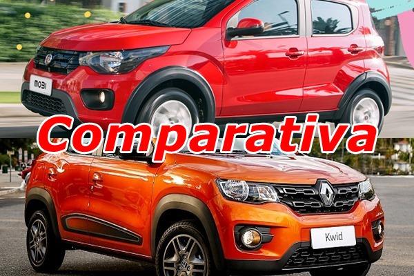 Comparativa Renault Kwid vs Fiat Mobi