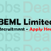 BEML Limited Recruitment 2017 – Apply Online for 154 Vacancies