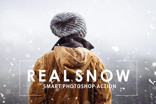 Membuat Efek Salju yang Nyata dengan Photoshop Action