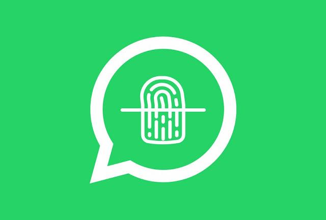 Seguridad de WhatsApp por huella dactilar