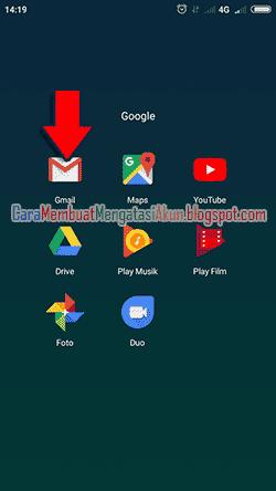 cara mengaktifkan akun gmail di android xiaomi