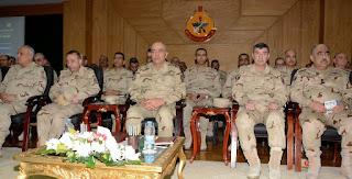 الفريق / محمود حجازى يشهد أنشطة رئيسية بأكاديمية ناصر العسكرية العليا
