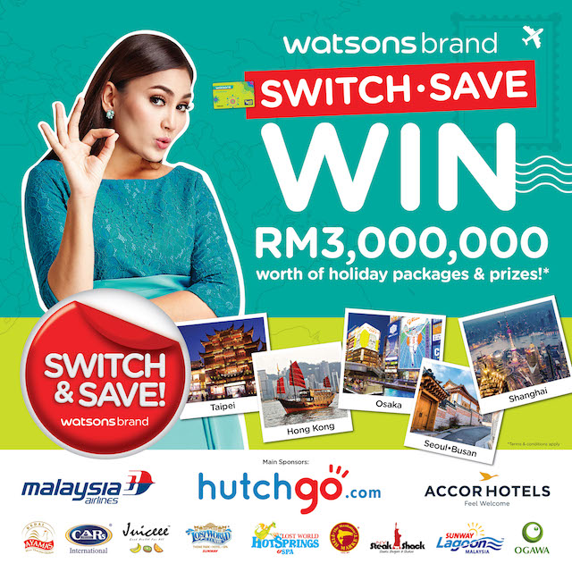 RM3 million worth of holiday packages and prizes? Yes please.