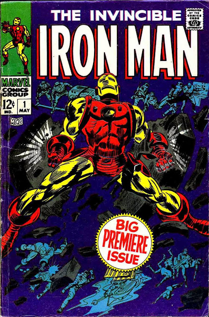 Iron Man v1 #1, 1968 marvel silver age comic book cover