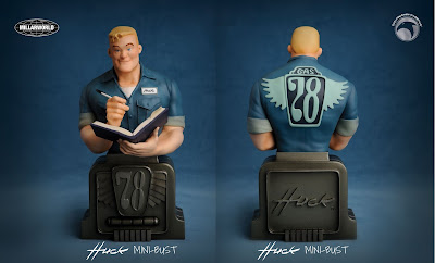 Huck Mini Bust by Rafael Albuquerque x Mark Millar x Skelton Crew Studio