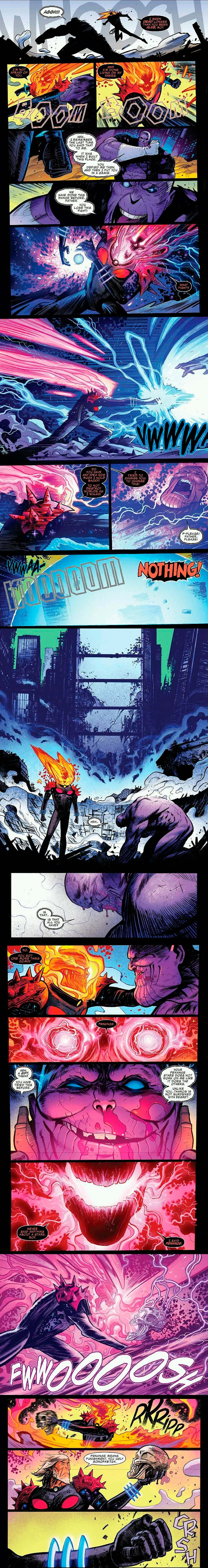 Ghost Rider kills Punisher Thanos