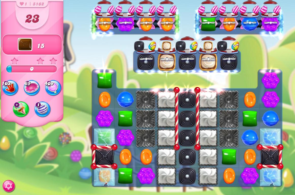 Candy Crush Saga level 5162