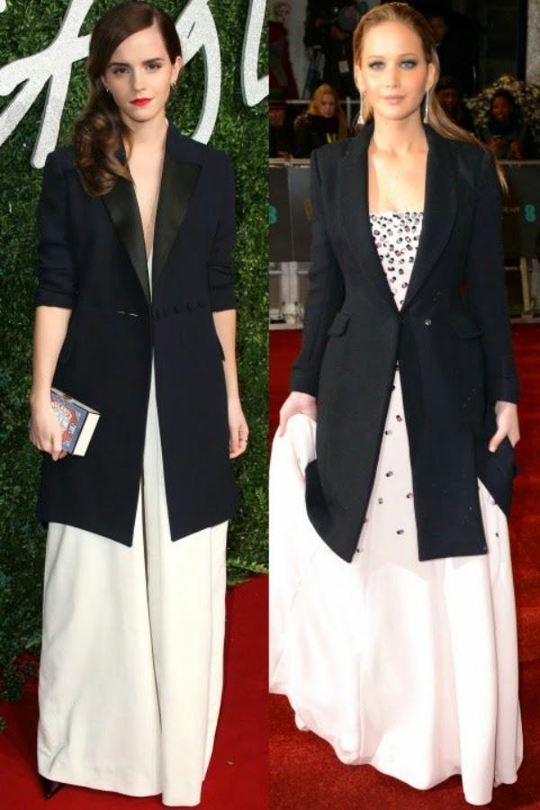Emma Watson e Jennifer Lawrence