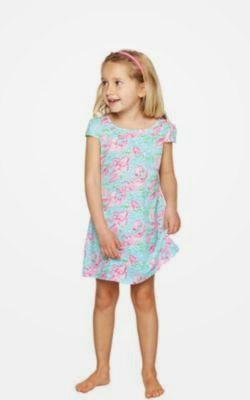 4c0b4580848113 The Jaylynne dress is a cotton girls embellished dress that looks elevated  but will be comfortable enough for your little to play.