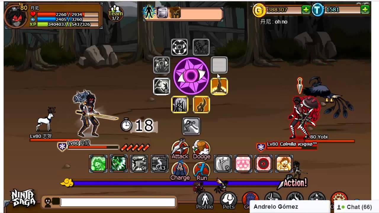 download game ninja saga android versi terbaru
