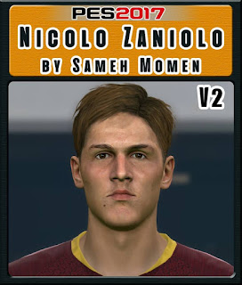 PES 2017 Faces Nicolo Zaniolo by Sameh Momen
