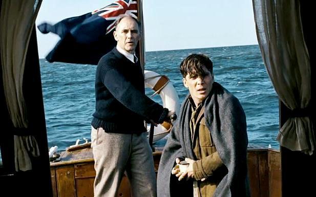 Cillian Murphy, Mark Rylance, in Dunkirk