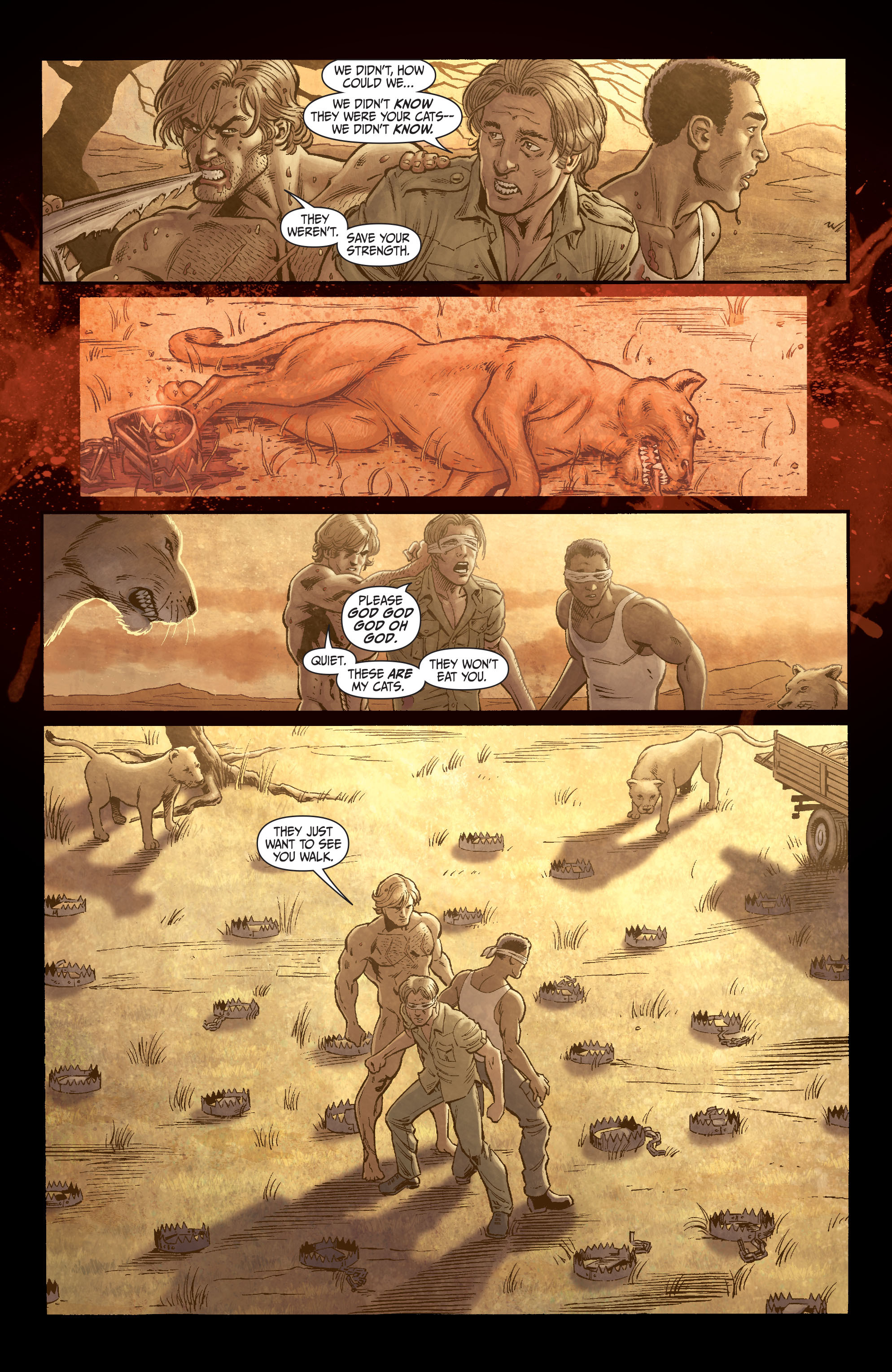 Read online Secret Six (2008) comic -  Issue #3 - 11