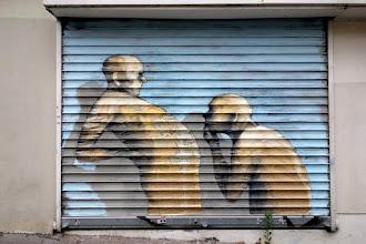 Sunday Street Art : Philippe Hérard - rue Jean-Baptiste Dumay - Paris 20