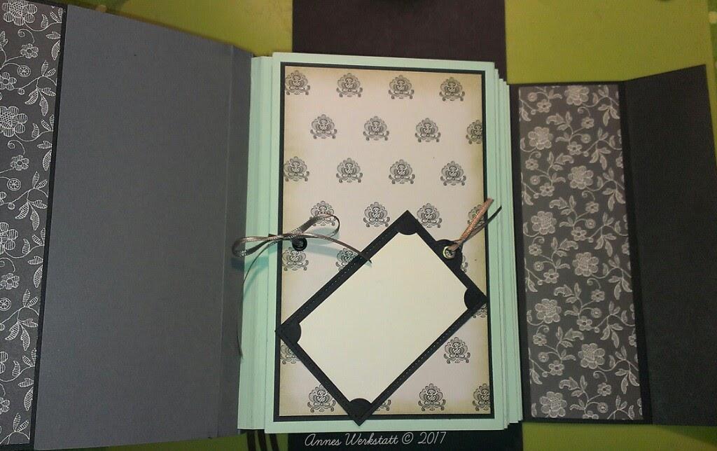annes werkstatt minialbum 1 3 buchseiten tutorial. Black Bedroom Furniture Sets. Home Design Ideas