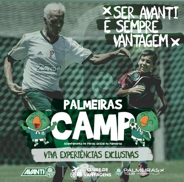 Palmeiras usa acampamento de férias para ativar outras ações ~ FutGestão 7fb89a5447e56