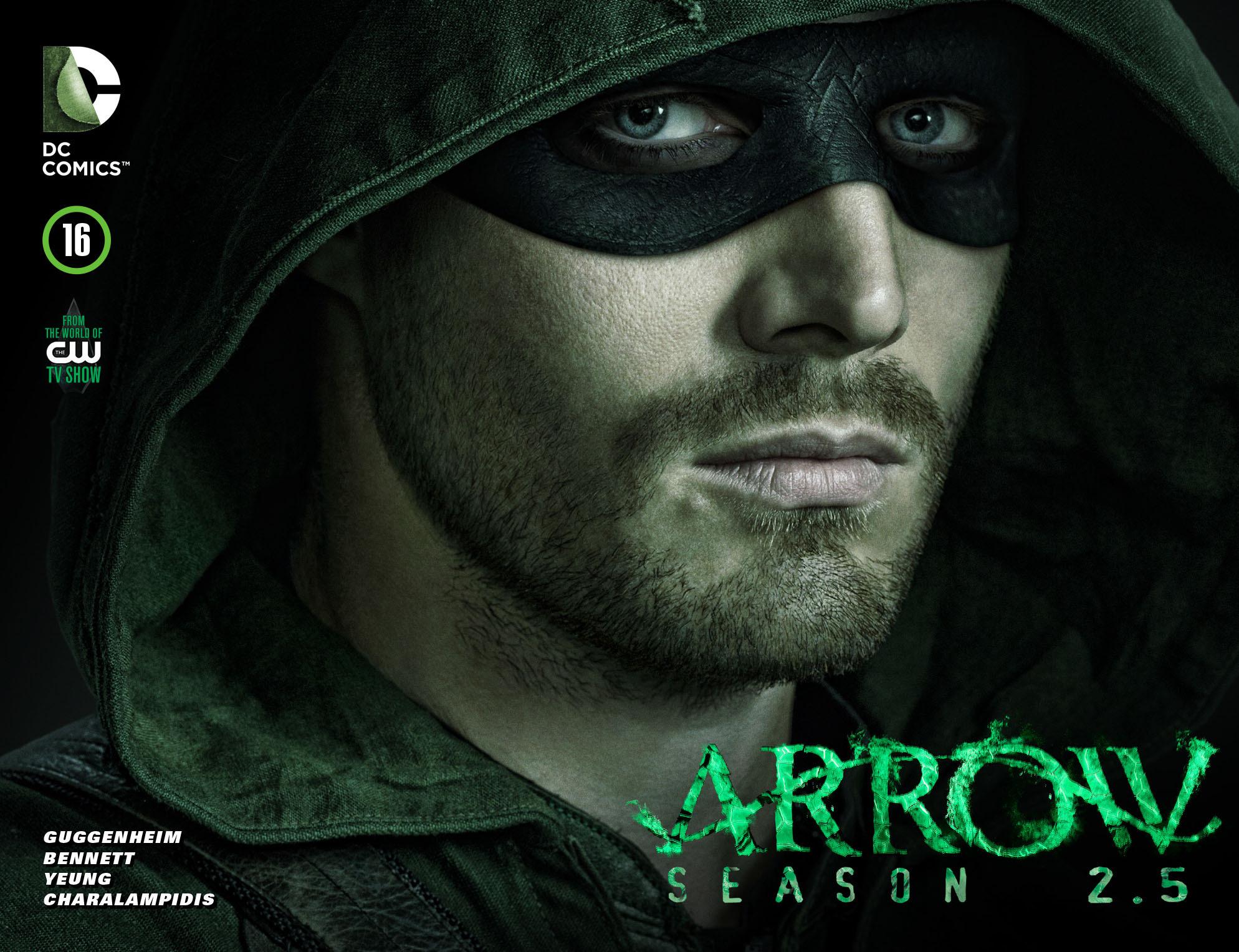Read online Arrow: Season 2.5 [I] comic -  Issue #16 - 1