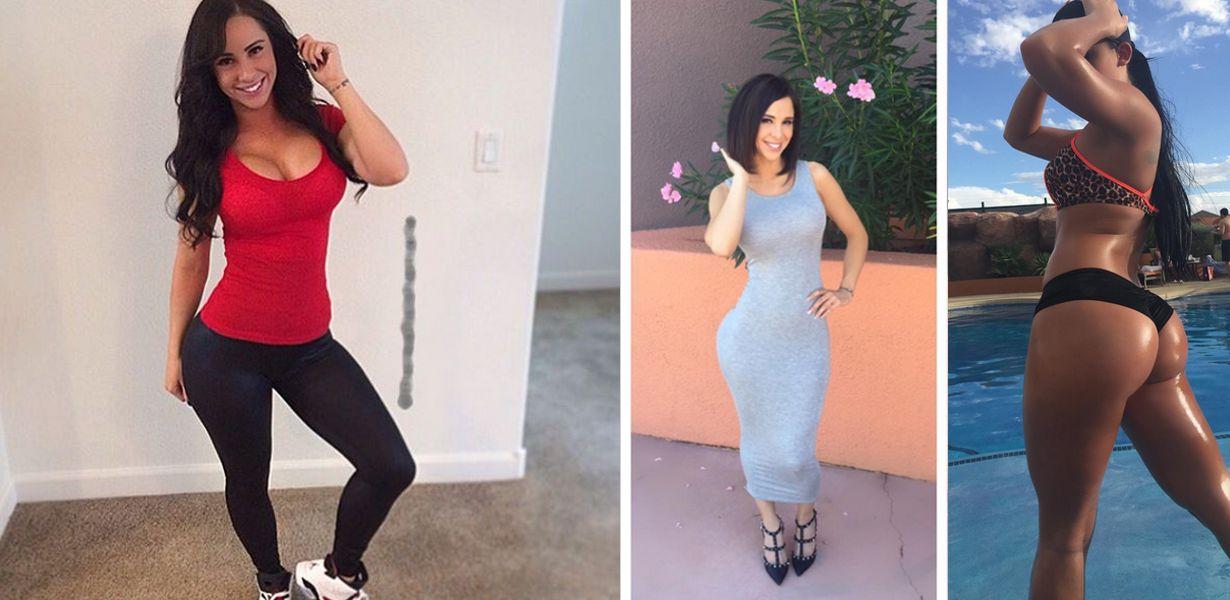 Conheça a modelo fitness que já foi banida Três do instagram