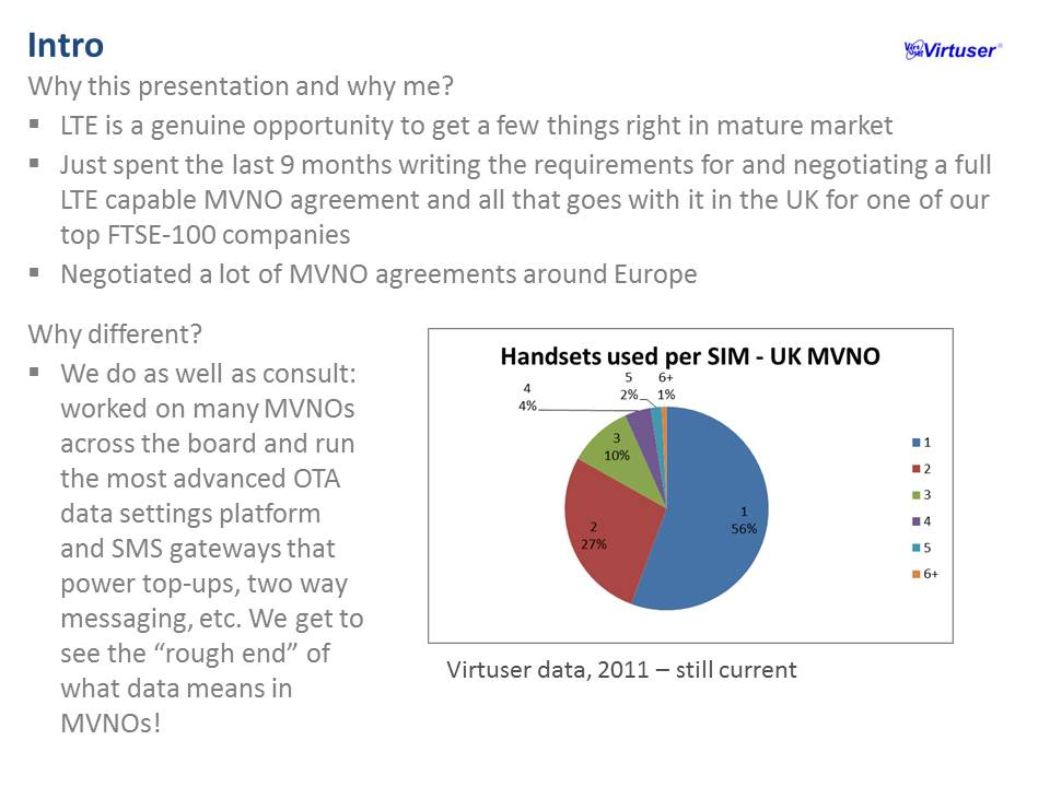 Mobile Virtual Network Operator - MVNO: MVNE OTA