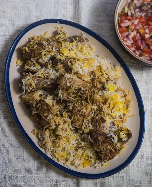 chicken biryani awadhi style