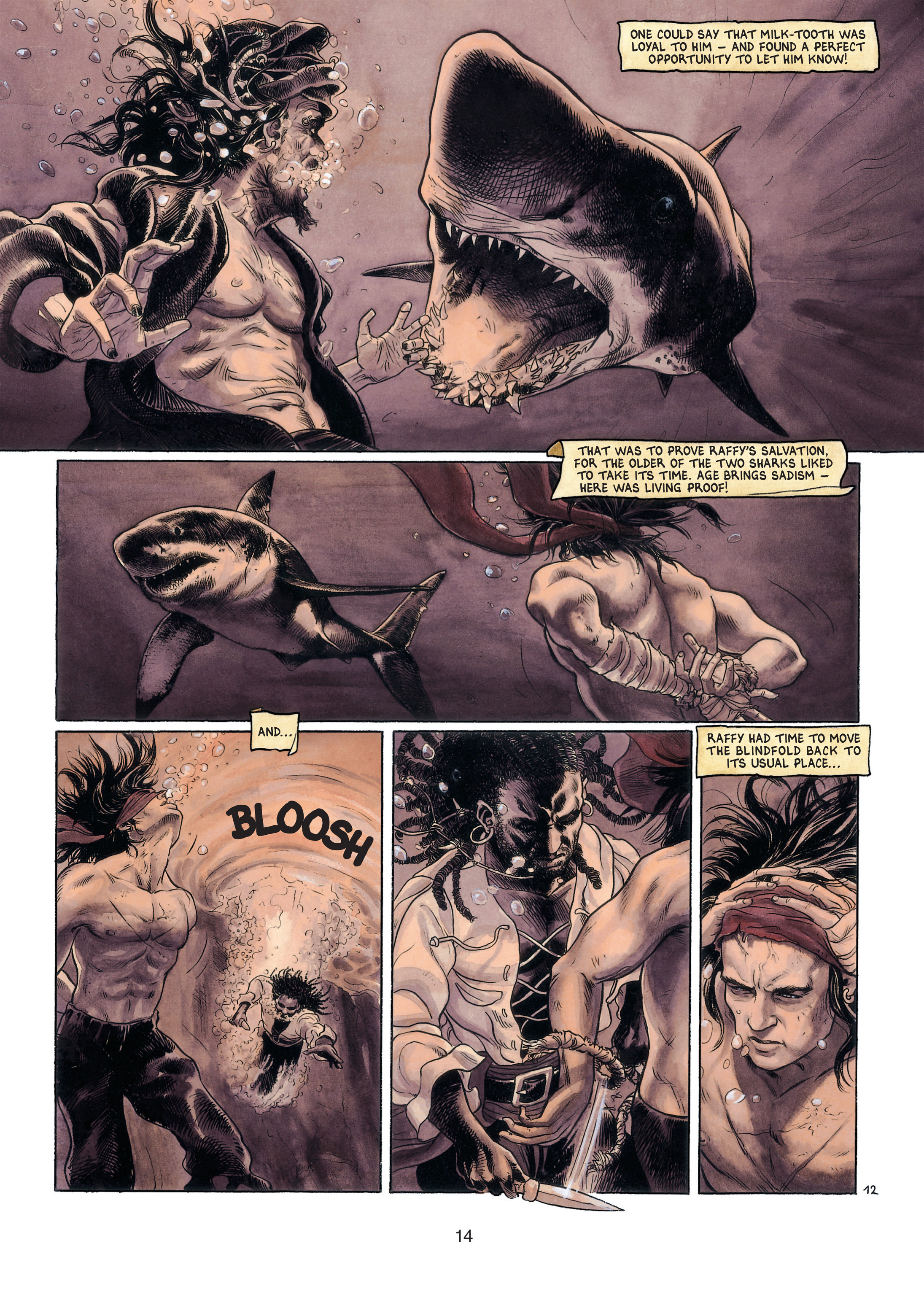Read online Barracuda comic -  Issue #4 - 15