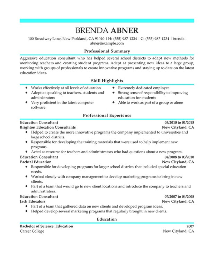 ready to use accounting resume template dadakan