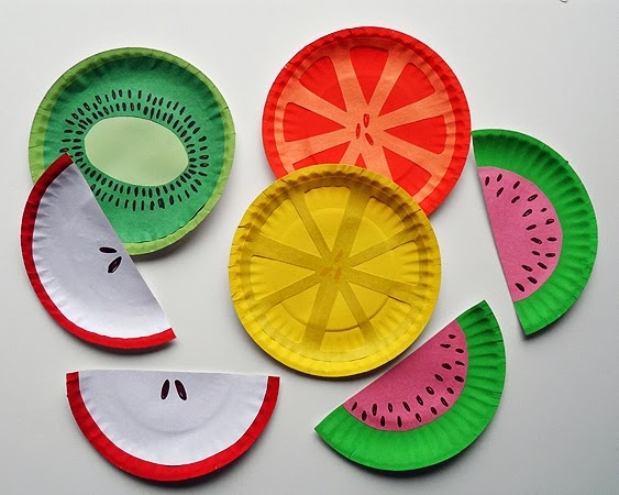 Easy Paper Plates Craft For Kids Art And Craft Projects Ideas