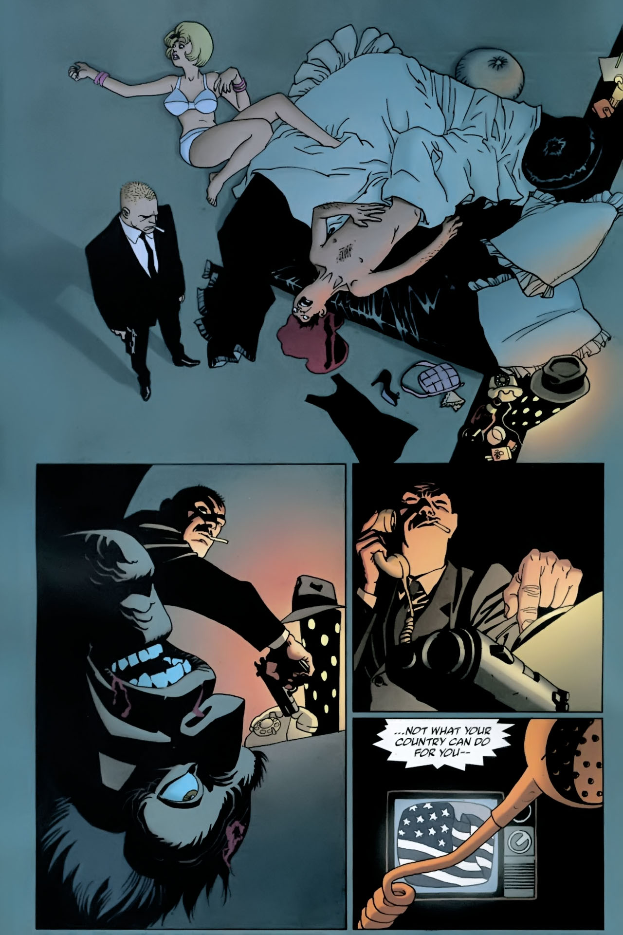 Read online 100 Bullets comic -  Issue #89 - 3