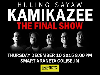 "Kamikazee's Last Gig called ""Huling Sayaw"" Concert"