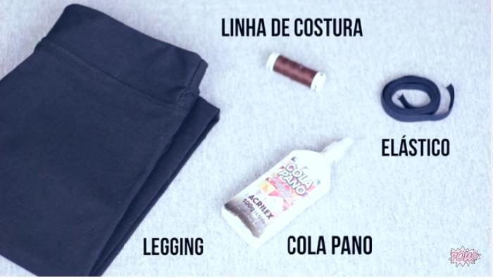 77556acce Livia Beatriz  DIY BIQUINI HOT PANTS COM UMA LEGGING !!!!