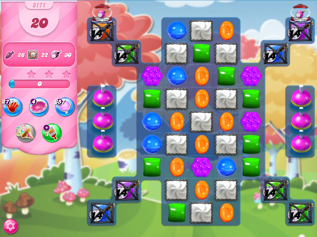 Candy Crush Saga level 3171